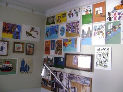 Christian Robinson's studio