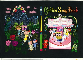RAoR Mary Blair golden songbook