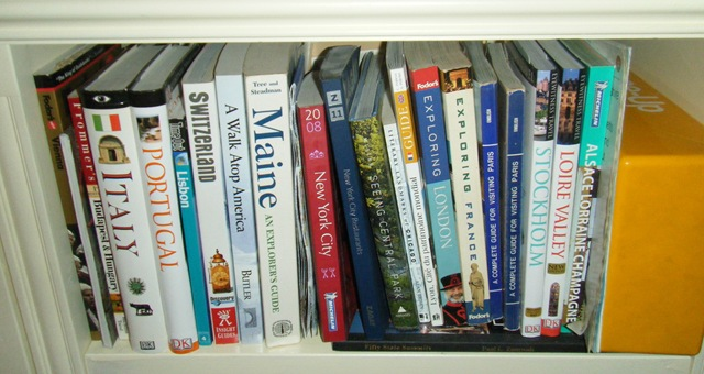 Mike Beil Bookshelf Travel Books