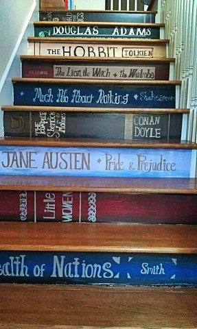 BITW Another Book Staircase
