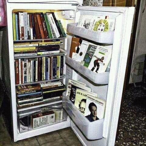 BITW Books in a Fridge