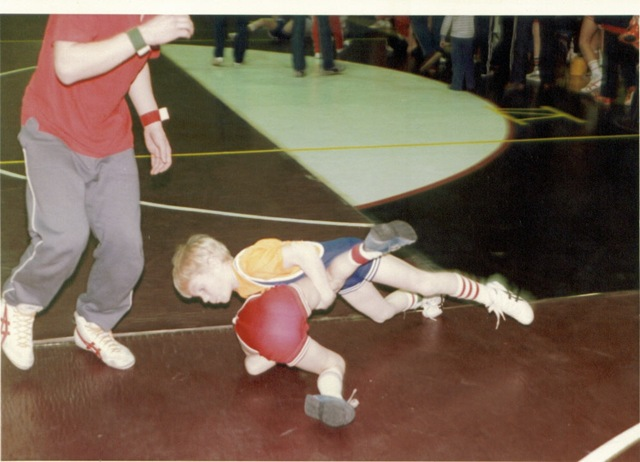 Buyea Young Rob Wrestling