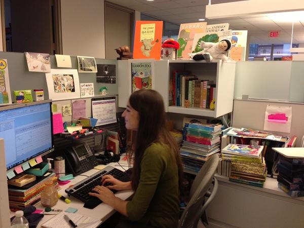 alex in her office