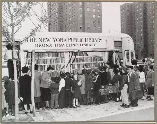BITW Bronx Book Mobile Traveling Library