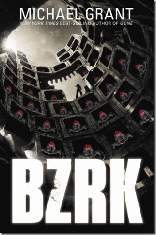 BZRK paperback
