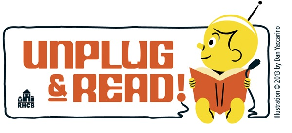 Unplug & Read 4C Logo for Accounts ©2013DanYaccarino