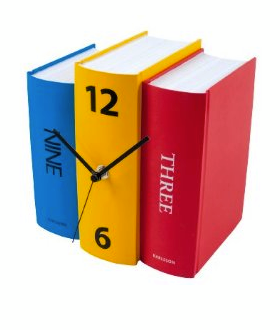 BITW Book Clock Always Time to Read