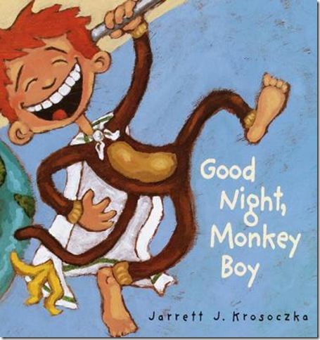 Good Night Monkey Boy Board