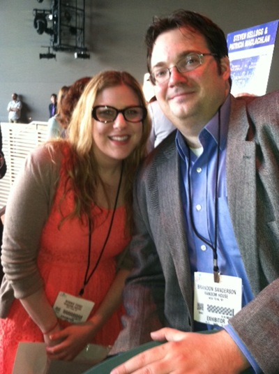me and Brandon Sanderson