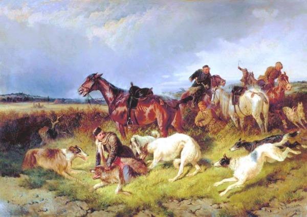 Annemarie OBrien Wolf Hunt