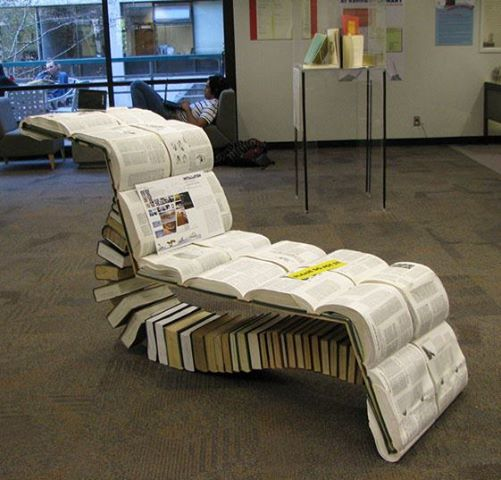 The Book Chaise.